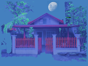 A house in a dream