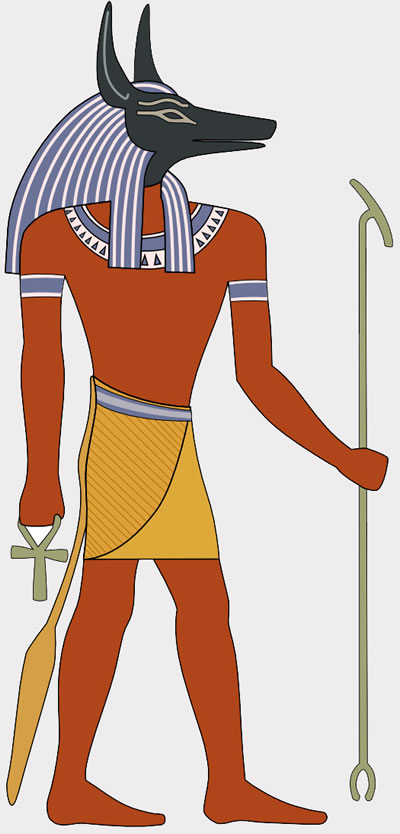 Ancient Egyptians seeking the meaning of dreams were inspired by the god Anubis